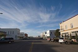 Highland Avenue, downtown Marfa, Texas.