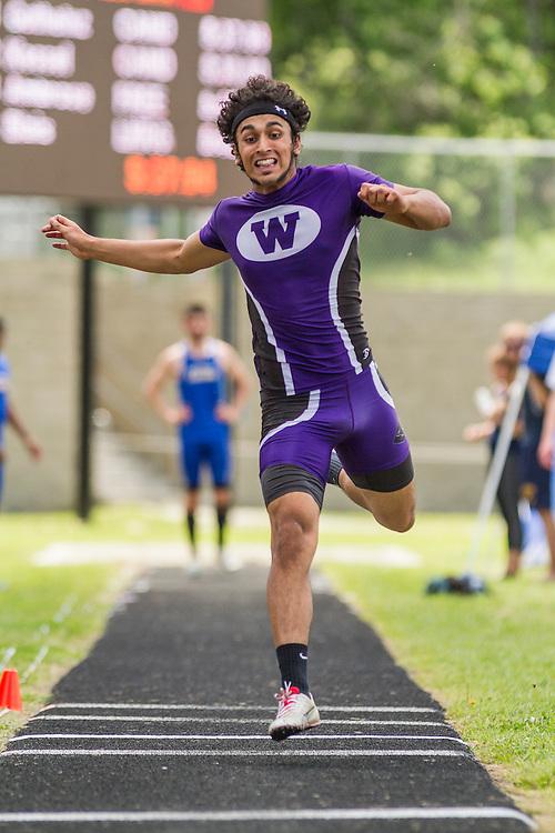 Maine State Track & Field Meet, Class B: boys triple jump, Khan Shahzaib, Waterville