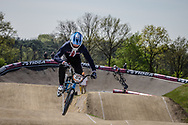 #64 (LONG Nicholas) USA at the 2016 UCI BMX Supercross World Cup in Papendal, The Netherlands.