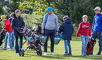 HALFWEG - jeugdgolf  olv pro's David Sijnke (foto) en Dirk Sandee  op de Amsterdamse Golf Club.    COPYRIGHT KOEN SUYK
