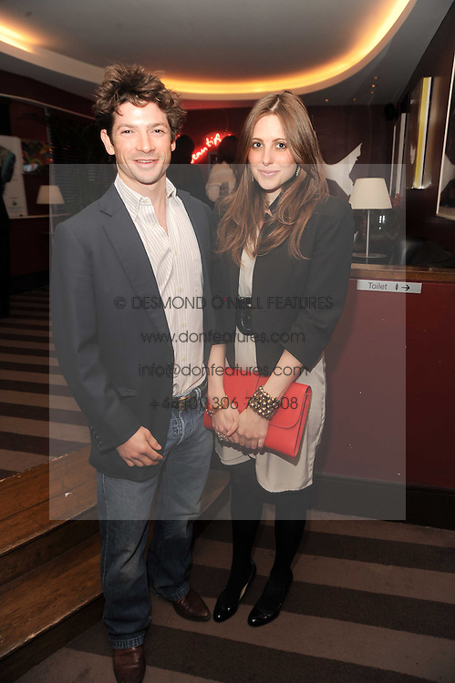 A party to promote the exclusive Puntacana Resort & Club - the Caribbean's Premier Golf & Beach Resort Destination, was held at The Groucho Club, 45 Dean Street London on 12th May 2010.<br /> <br /> Picture shows:-SAM WALEY-COHEN and BELLA BALLIN