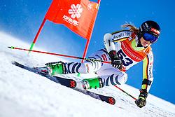 Paulina Schlosser (GER) during giant slalom race at FIS European Cup Krvavec 2021, February 2, 2021 in Krvavec, Cerklje na Gorenjskem, Slovenia. Photo by Matic Klansek Velej / Sportida