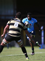 Jamba Ulengo of the Blue Bulls on the attack during the Currie Cup premier division match between the Boland Cavaliers and The Blue Bulls held at Boland Stadium, Wellington, South Africa on the 23rd September 2016<br /> <br /> Photo by:   Shaun Roy/ Real Time Images