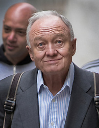 © Licensed to London News Pictures. 31/03/2017. London, UK. Former Mayor of London Ken Livingstone arrives at Church House for the second day of a Labour Party disciplinary hearing hearing. Mr Livingstone has been accused of anti-Semitism after comments he made in April 2016 claiming that Hitler supported Zionism in the 1930's. Photo credit: Peter Macdiarmid/LNP
