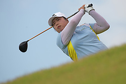 SINGAPORE, March 1, 2019  Feng Shanshan of China competes on the second day of the HSBC Women's World Championship held at Singapore's Sentosa Golf Club on March 1, 2019. (Credit Image: © Then Chih Wey/Xinhua via ZUMA Wire)