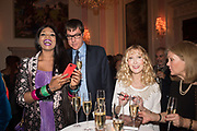 IRENE MAJOR; SAM MALIN; BASIA BRIGGS, Launch of book by Basia Briggs, Mother Anguish. The Ritz hotel, Piccadilly. 4 December 2017