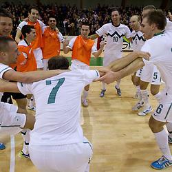 20110225: SLO, Futsal - Qualifications EURO 2012, Slovenia vs Latvia
