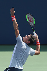 August 29, 2018 - Flushing Meadow, NY, U.S. - FLUSHING MEADOW, NY - AUGUST 29: MILOS RAONIC (CAN) day three of the 2018 US Open on August 29, 2018, at Billie Jean King National Tennis Center in Flushing Meadow, NY. (Photo by Chaz Niell/Icon Sportswire) (Credit Image: © Chaz Niell/Icon SMI via ZUMA Press)
