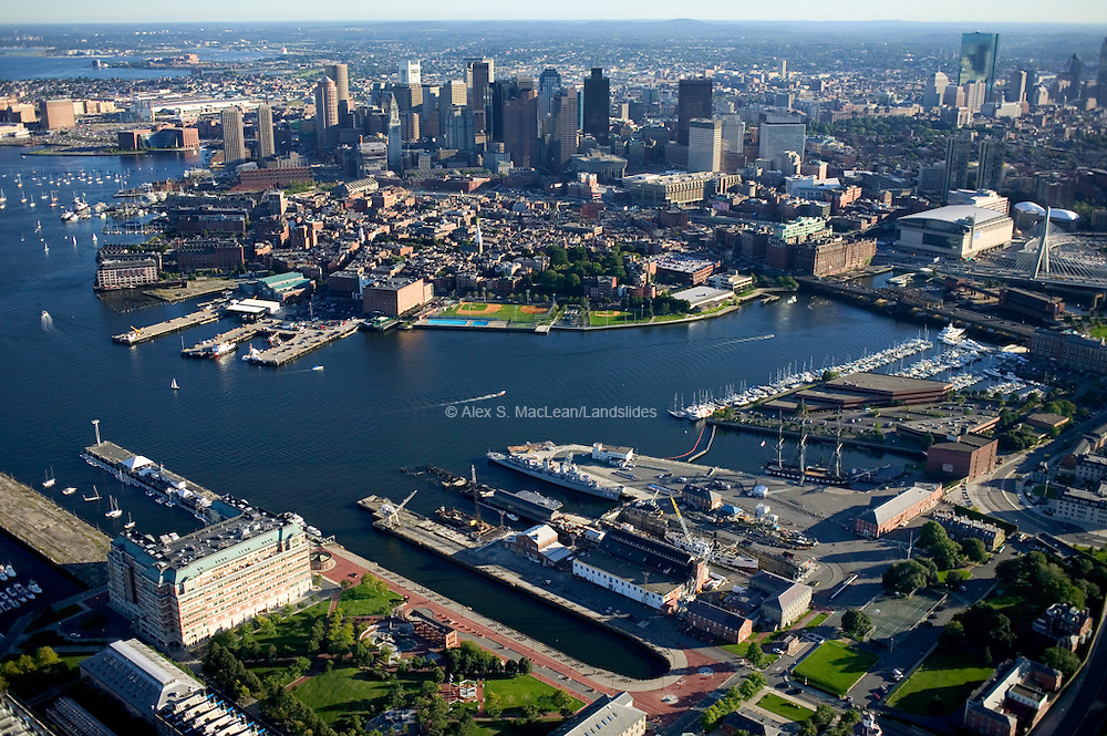 Charlestown Navy Yard - Flagship Wharf - USS Constitution - Downtown - North End -