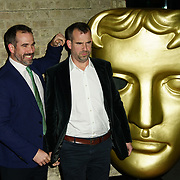 London, England, UK. 26th November 2017. Christoffer van Tulleken and Alexander van Tulleken attend the British Academy Children's Awards 2017 at the Roundhouse.