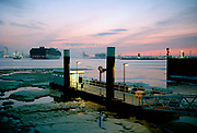 Port of Rotterdam, Pistool haven Ferry boat service platform.