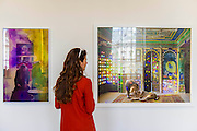 The sales effort goes on in the reflection of work by Goldschmied & Chiari and Karen Knorr (Finding Refuge, R)in the Grimaldi Gavin Gallery.  The inaugural edition of Photo London - London's first international photography fair, it aims to harness the growing audience for photography in the city and nurture a new generation of collectors. Photo London is produced by the consultancy and curatorial organisation Candlestar, known for their work with Condé Nast and the Prix Pictet photography award and touring exhibition. Photo London's public programme is supported by the LUMA Foundation.