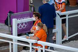 Van Baalen Coby, NED<br /> Olympic Games Tokyo 2021<br /> © Hippo Foto - Stefan Lafrentz<br /> 27/07/2021no