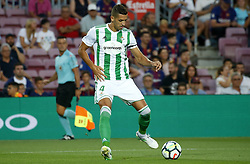 August 20, 2017 - Barcelona, Spain - Zou Feddal during La Liga match between F.C. Barcelona v Real Betis Balompie, in Barcelona, on August 20, 2017. hoto: Joan Valls/Urbanandsport/Nurphoto  (Credit Image: © Urbanandsport/NurPhoto via ZUMA Press)