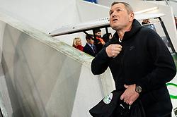 Matjaz Kek, head coach of Slovenia during the 2020 UEFA European Championships group G qualifying match between Slovenia and Latvia at SRC Stozice on November 19, 2019 in Ljubljana, Slovenia. Photo by Vid Ponikvar / Sportida