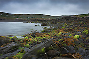 Glendale Beach. Isle of Skye, looking back towards the mouth of the River Hamara.
