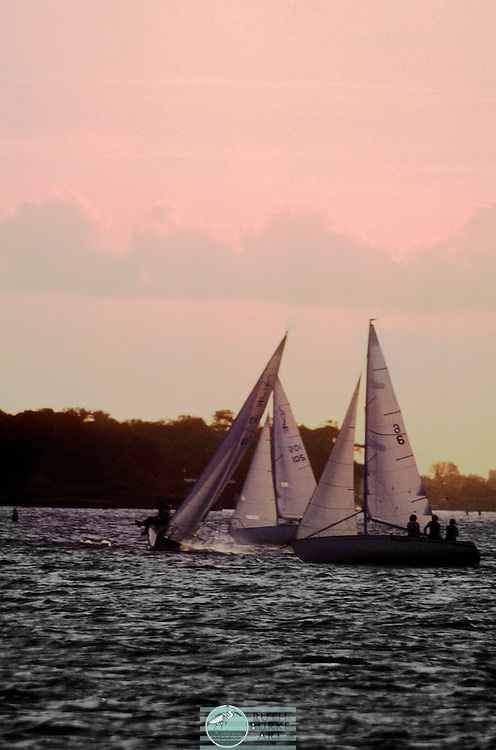 1985 Sailboat Race on Clear Lake