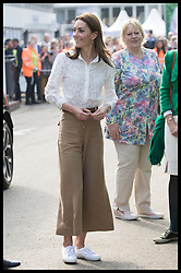 May 20, 2019 - London, London, United Kingdom - Image licensed to i-Images Picture Agency. 20/05/2019. London, United Kingdom. The Duchess of Cambridge arriving to visit her  ÔBack to NatureÃ• Garden that she helped design at the Chelsea Flower Show in London. (Credit Image: © Stephen Lock/i-Images via ZUMA Press)