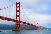 San Francisco's Historic Golden Gate Bridge