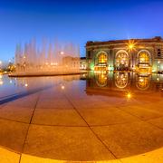 Union Station at Pershing & Main, Kansas City, Missouri.