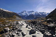 New Zealand southern Alps Mount Cook Landscape