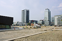 Construction work continues   in the revitalization plan of Regent Park in Toronto.