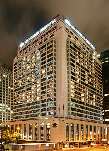 The Mandarin Oriental hotel, Central
