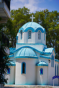 Saint Nikolaos chapel at Nea Artaki (Chalcis) Euboea Greece