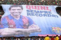 Tribute to FC Barcelona's legend Enrique Castro Quini during La Liga match. March 4,2018. (ALTERPHOTOS/Acero)
