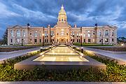 Wyoming State Capitol, Cheyenne, Wyoming.