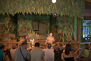 Reptile show, St. Augustine Alligator Farm, St. Augustine, Florida, USA<br />