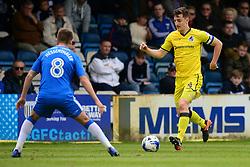 Tom Lockyer of Bristol Rovers attacks forward.  - Mandatory by-line: Alex James/JMP - 14/04/2017 - FOOTBALL - MEMS Priestfield Stadium - Gillingham, England - Gillingham v Bristol Rovers - Sky Bet League One