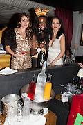 CAROLINA TONG; PLAYBOY BUNNIES; YASMIN MILLS, Pete & Carolina Tong and Yasmin Mills Christmas Party. Baroque, The Playboy Club, Old Park Lane, London. 15 December 2012.