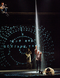 Dr Dee <br /> by Damon Albarn<br /> London Premier<br /> Commissioned by Manchester International Festival London 2012 Festival & ENO <br /> The English National Opera <br /> at The London Coliseum, London, Great Britain<br /> directed by Rufus Norris<br /> rehearsal<br /> 25th June 2012 <br /> <br /> Paul Hilton as John Dee<br /> Anna Dennis as Katherine<br /> Steven Page as Walsingham <br /> Christopher Robson as Keeley <br /> Melanie Pappenheim as Elizabeth <br /> Rebecca Sutherland as Young Dee<br /> Victoria Couper as Young Katherine<br /> Clemmie Sveaas as Jane<br /> <br /> Photograph by Elliott Franks