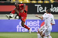 FOOTBALL - FRENCH CHAMPIONSHIP 2010/2011 - L2 - LEMANS FC v NIMES OLYMPIQUE - 14/03/2011 - PHOTO ERIC BRETAGNON / DPPI -  MICKAEL POTE (LE MANS)
