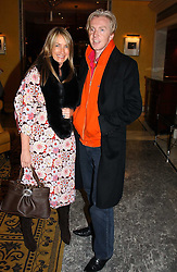 ANYA HINDMARCH and PHILIP TREACY at the launch of MAC's High Tea collection with leading British designers held at The Berkeley Hotel, London on 17th January 2005.  MAC has collabroated with The Berkeley's Pret-a-Portea, which adds a creative twist to th classic elements of the English afternoon tea with cakes and pastries inspired by fashion designs.<br /><br />NON EXCLUSIVE - WORLD RIGHTS