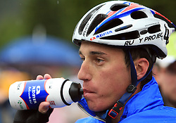 Robert Kiserlovski of Croatia (Adria Mobil) placed third at 3rd stage of the 15th Tour de Slovenie from Skofja Loka to Krvavec (129,5 km) , on June 13,2008, Slovenia. (Photo by Vid Ponikvar / Sportal Images)/ Sportida)
