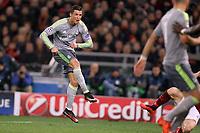 Il gol di Cristiano Ronaldo Real Madrid<br /> Goal Celebration Real Madrid<br /> Roma 17-02-2016 Stadio Olimpico<br /> Football Calcio Champions League 2015/2016 <br /> Round of 16 - Ottavi di Finale AS Roma - Real Madrid / AS Roma - Real Madrid<br /> Foto Luca Pagliaricci / Insidefoto