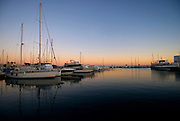 Port of Santa Eulalia del Rio, Ibiza, Spain