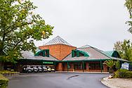 21-09-2015: Golf Resort Karlovy Vary in Karlovy Vary (Karlsbad), Tsjechië.<br /> Foto: Clubhuis