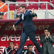 Eskisehirspor's coach Michael Heinz SKIBBE during their Turkish Super League soccer match Galatasaray between Eskisehirspor at the TT Arena at Seyrantepe in Istanbul Turkey on Monday, 26 September 2011. Photo by TURKPIX