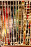Cotton reel colours