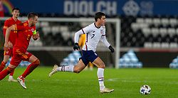 SWANSEA, WALES - Thursday, November 12, 2020: USA's Giovanni Reyna during an International Friendly match between Wales and the USA at the Liberty Stadium. (Pic by David Rawcliffe/Propaganda)