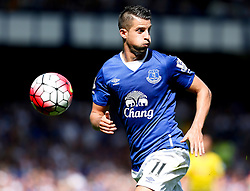 Everton's Kevin Mirallas in action - Mandatory byline: Matt McNulty/JMP - 07966386802 - 08/08/2015 - FOOTBALL - Goodison Park -Liverpool,England - Everton v Watford - Barclays Premier League