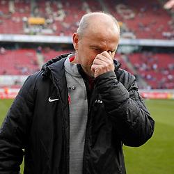 08.03.2015, RheinEnergieStadion, Köln, GER, 1. FBL, 1. FC Köln vs Eintracht Frankfurt, 24. Runde, im Bild Trainer Thomas Schaaf (Eintracht Frankfurt) // during the German Bundesliga 24th round match between 1. FC Cologne and Eintracht Frankfurt at the RheinEnergieStadion in Köln, Germany on 2015/03/08. EXPA Pictures © 2015, PhotoCredit: EXPA/ Eibner-Pressefoto/ Schueler<br /> <br /> *****ATTENTION - OUT of GER*****