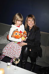 """FAY RIPLEY and her daughter PARKER at a VIP Opening night of Disney & Pixar's """"Finding Nemo on Ice"""" at The O2 Arena Grennwich London on 23rd October 2008."""