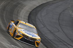May 6, 2018 - Dover, Delaware, United States of America - Kyle Busch (18) battles for position during the AAA 400 Drive for Autism at Dover International Speedway in Dover, Delaware. (Credit Image: © Justin R. Noe Asp Inc/ASP via ZUMA Wire)