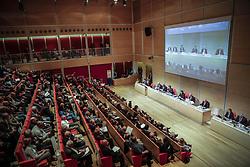 Italy, Turin - April 27, 2018.Shareholders meeting of BANCA INTESA SANPAOLO bank. (Credit Image: © Lapone/Fotogramma/Ropi via ZUMA Press)