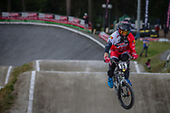 #15 (SEGERS Wouter) BEL during round 4 of the 2017 UCI BMX  Supercross World Cup in Zolder, Belgium.