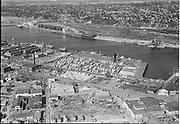 """Lumber dock, Terminal 1, Open dock. September 21, 1951"""